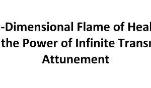 5th Dimensional Flame of Healing- Flamme de Guérison de la 5ème Dimension