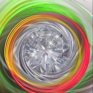 Diamond Spinning Disk - Disque de diamant tournoyant